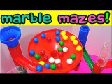 Best Learning Compilation Video Marble Maze Runs Teach Colors &amp Counting for Kids! Fun Educational!