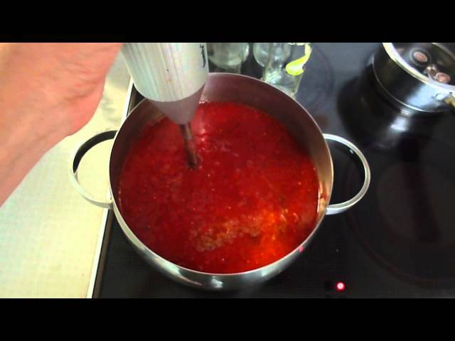 Соус (кетчуп) из красной смородины