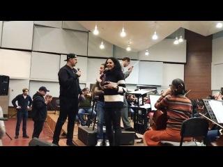 aleksandra_zhurba А у нас активная подготовка музыкальных сюрпризов к концерту Руслана Квинты)🎶 А у вас?😜