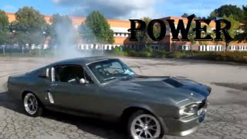 Ford Mustang GT500 Eleanor 1967 Drift Shelby / Mustang 1967 power