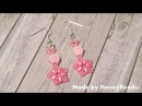 Fatamorgana Earrings Beading Tutorial by HoneyBeads1 (with superduo and rounduo)