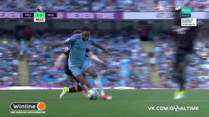 ГолТВ рф Манчестер Сити Халл 2 0 Агуэро