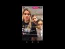 Ксения Бородина Амар Маруся и Курбан прямой эфир Инстаграм 07.04.2017
