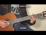 The Avener Ane Brun - To Let Myself Go (Quick Guitar Tutorial + Tabs)_HD