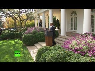 Выступление Барака Обамы по итогам президентских выборов в США