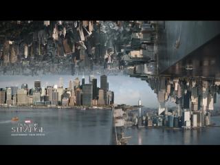 Новое видео «Доктора Стрэнджа» о создании зеркальной битвы в Нью-Йорке