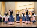 День учителя 2015 Концерт Испанский танец