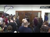 Оглашение приговора Варваре Карауловой.