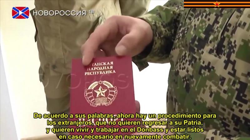 Los ciudadanos extranjeros podrán recibir el pasaporte de la RPL-26 de agosto-(Sub. Español).