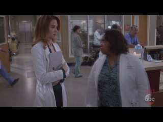 Grey's Anatomy 13x13 Opening April First Day as Chief Season 13 Episode 13