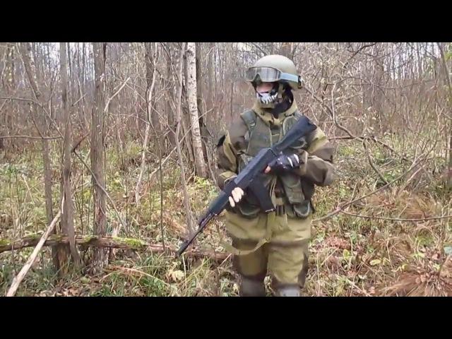 Костюм Горка для любителей рыбалки, охоты, приключений - краткий видео обзор