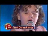 Внучка Лучано Паваротти пел Карузо Granddaughter of Luciano Pavarotti singing Caruso