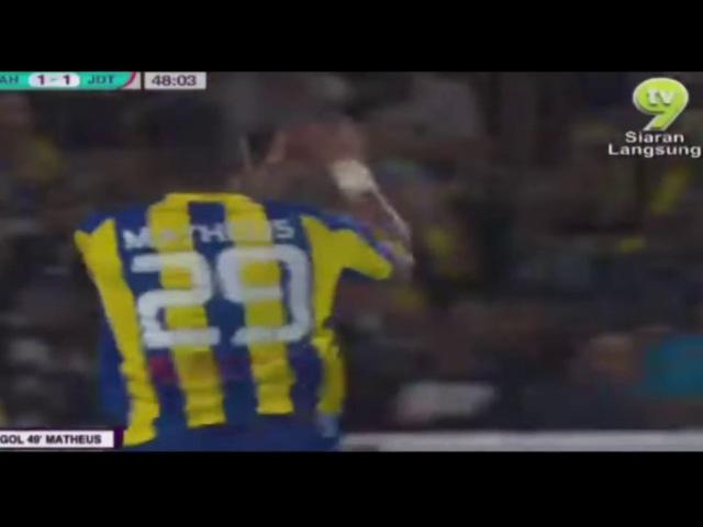 Piala FA 2017 : Pahang 3 1 Johor Darul Ta zim