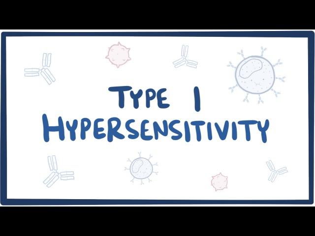 Гиперчувствительность 1 типа (IgE опосредованная гиперчувствительность) [Рус.суб.]