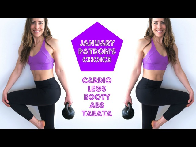 Cardio Legs, Booty, Abs Tabata | January Patron's Choice HIIT