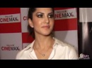 Sunny Leone in Transparent White Shirt