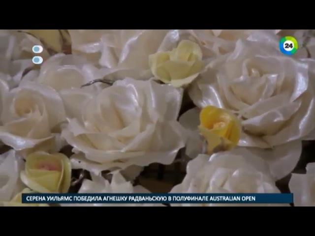 Цветы из карамели кондитер из Еревана устроила в квартире цех
