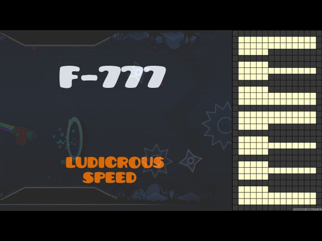 F-777 - Ludicrous Speed [Piano Cover] (GD)