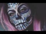 DIAMOND SKULL TUTORIAL VIC BROCCA Ft . Jessi Love