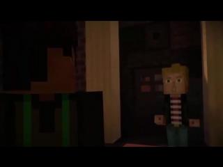 ✔ Мультик ИГРА для Детей - СТОРИ МОД  МАЙНКРАФТ - Команда Героев # 4 Minecraft Story Mode ✔