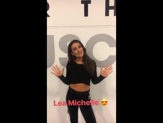 Lea at the NYC Shape Body Shop (October 22, 2016)