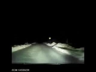 2017_01_09_Огромный метеорит засняли над Архангельском