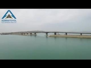 Qala-Pirallahı avtomobil yolunun 1 km-lik hissəsi yenidən qurulub