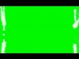 Скачать футаж Праздничная рамка(хромакей)