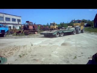 Кировец К 700 701 с траллом ЧМЗАП
