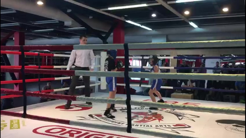 Открытый ринг FFS 09/04/2017 | Даня Маруков. Раунд 2. ©SLUG GYM