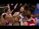 Bradley Beal Puts His Hand Around Evan Fournier's Neck 25 11 2016