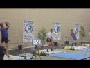 Чемпіонат Європи з гирьового спорту. Порту, Португалія. Поштовх довгим циклом Порохняк Роман