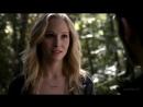 Поцелуй Клауса и Кэролайн в лесу (5 сезон 11 серия)
