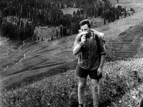 Иосиф Бродский в геологической экспедиции, 1960 г.