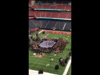 Lady Gaga Rehearsal Super Bowl 2017 - Born This Way