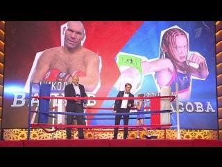 Бесстрашная девочка-боксер против Николая Валуева - Лучше всех - Первый канал