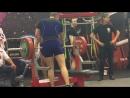 Мировой рекорд, 3 подход 195,5 кг. 90 в/кат. с д/к. Чемпионат мира, WRPF Москва 2016