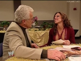 Dawn Marie and Al Wilson prepare for the wedding, WWE Smackdown 14.11.2002