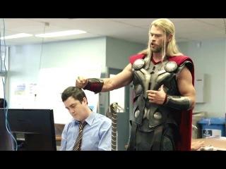 What Thor Was Doing During Captain America: Civil War (Comic-Con 2016) Thor Ragnarok HD