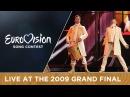 Regina - Bistra Voda Bosnia Herzegovina LIVE 2009 Eurovision Song Contest