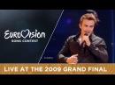 Igor Cukrov feat Andrea Lijepa Tena Croatia LIVE 2009 Eurovision Song Contest