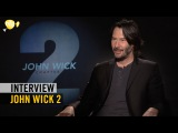 John Wick 2 - Interview - Keanu Reeves + Common + Ruby Rose + Laurence Fishburne - Pathé