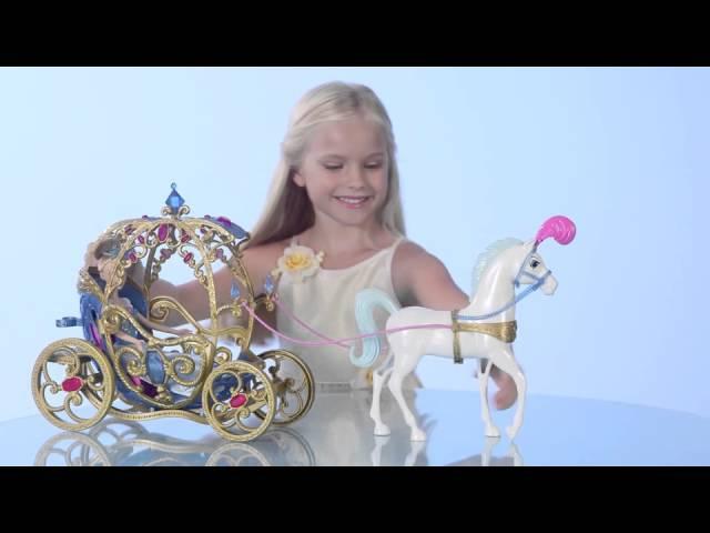Набор Disney Princess - Лошадь с каретой для Золушки