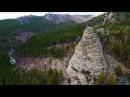 Забайкалье, Яблоневый хребет. Причудливые скалы и останцы Большой Сестреницы