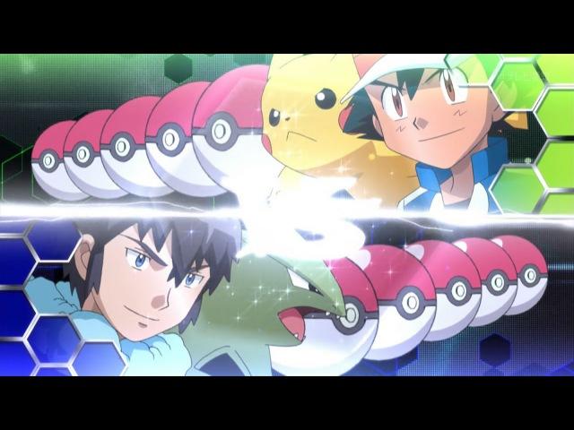 Ash vs Alain AMV [kalos ligue]
