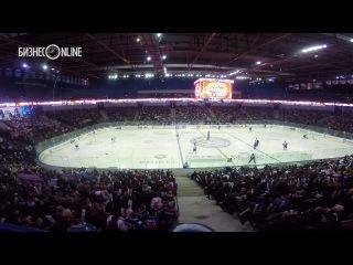 Аншлаг за 30 секунд. Как заполнялась «Металлург Арена» на матч против СКА