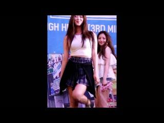 160723 Brave Girls - High Heels (Hayun) @ Фансайн Brave Girls в Lotte World [4]