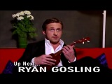 Ryan Gosling playing Ukulele Full Interview Tip 12:30