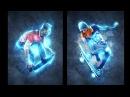 Абстрактный световой эффект в Фотошоп в стиле Renegade Action