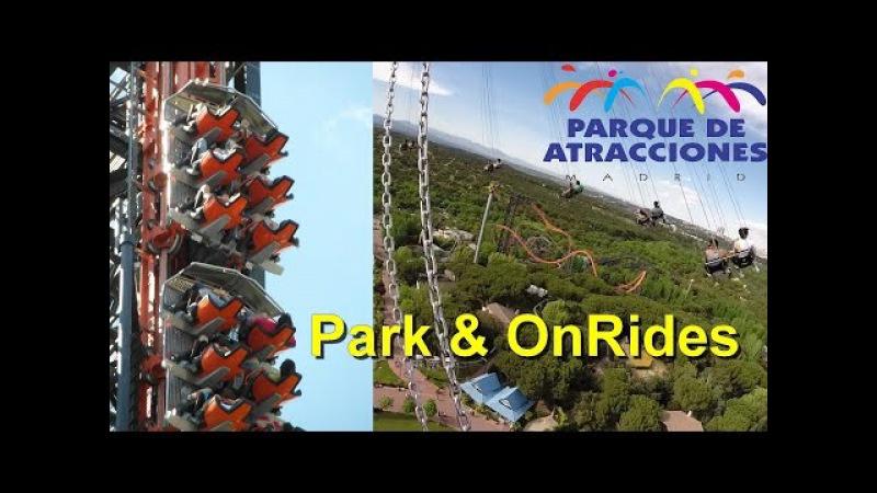 Parque de Atracciones de Madrid - OnRides - Freizeitpark Madrid - Abismo - La Tarantula - Tornado